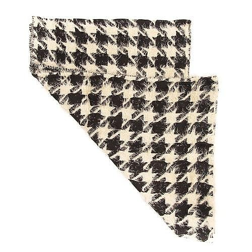 Pieces Kooth Long Scarf - Houndstooth - One