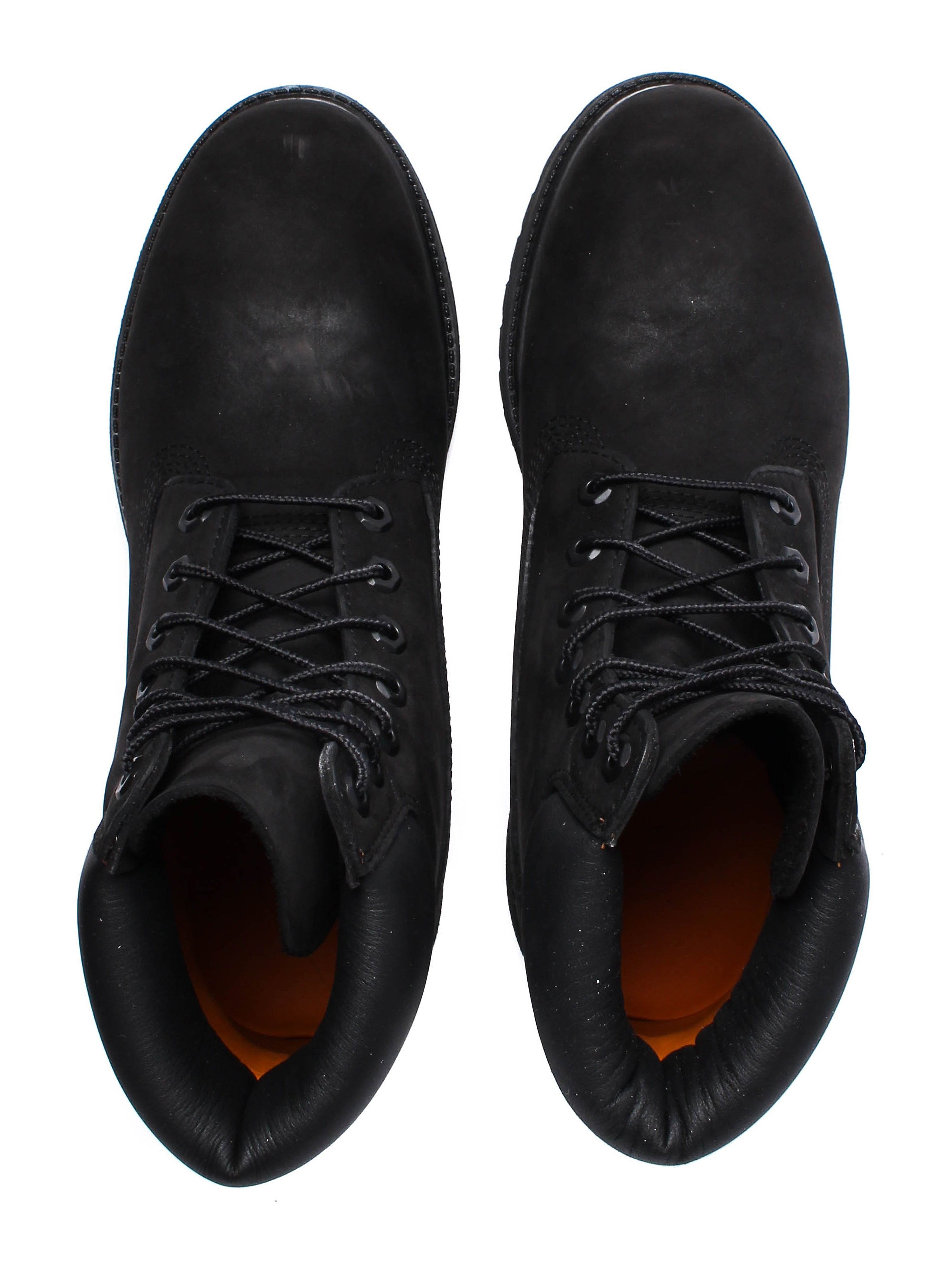 Timberland Mens 6 Inch Premium - Black Nubuck