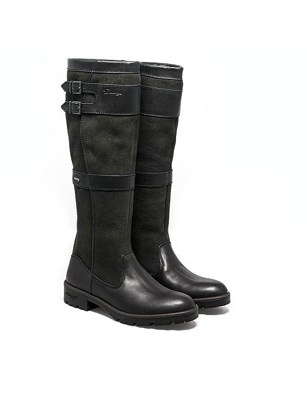 Dubarry Women's Longford Tall Leather Boots - Black