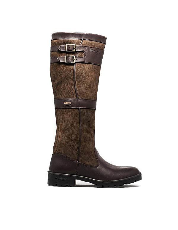 Dubarry Women's Longford Tall Leather Boots - Walnut