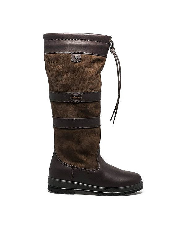 Dubarry Women's Galway Extra-Fit Leather Boots - Walnut