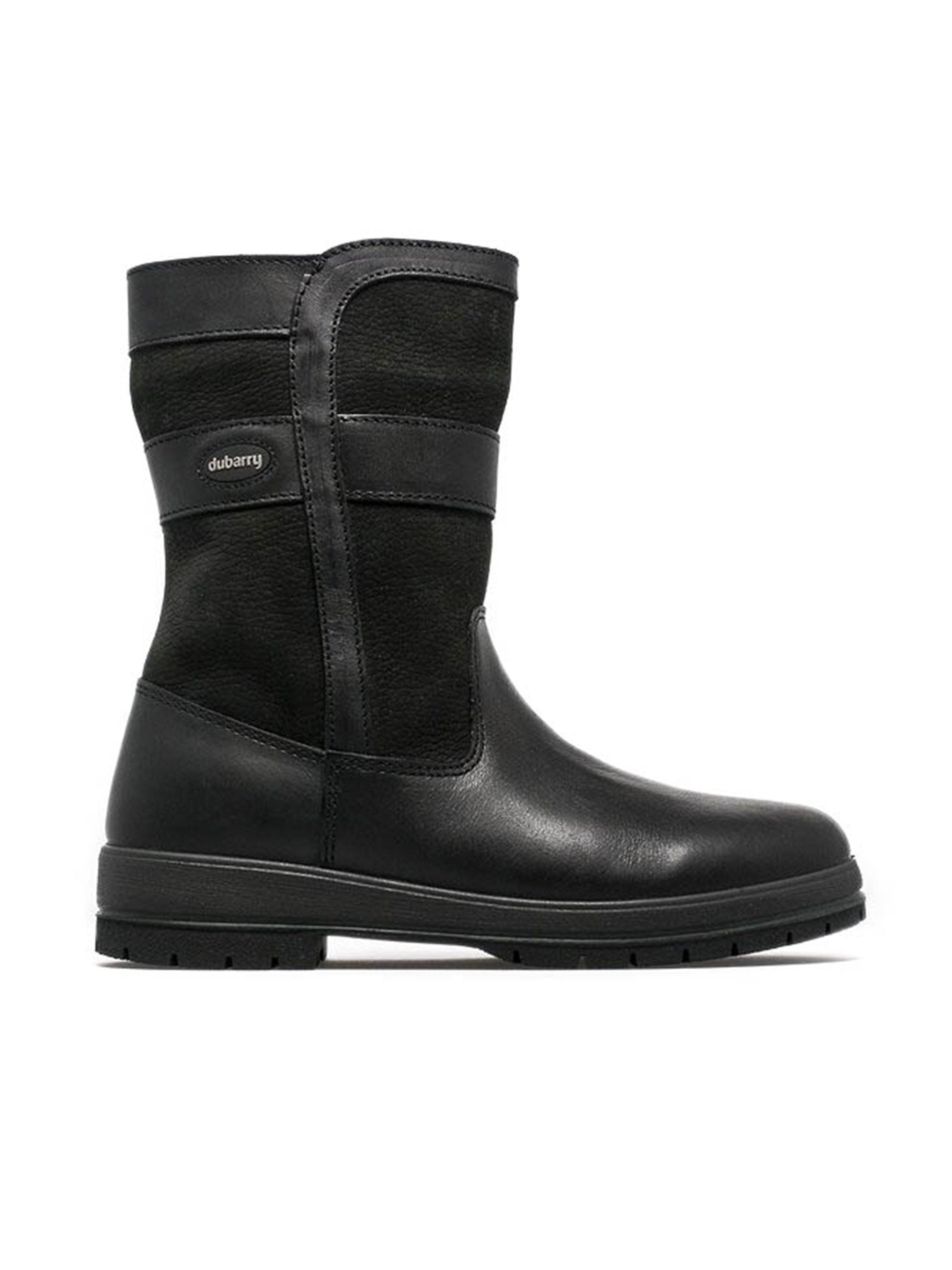 Dubarry Women's Roscommon Leather Mid Height Boots - Black