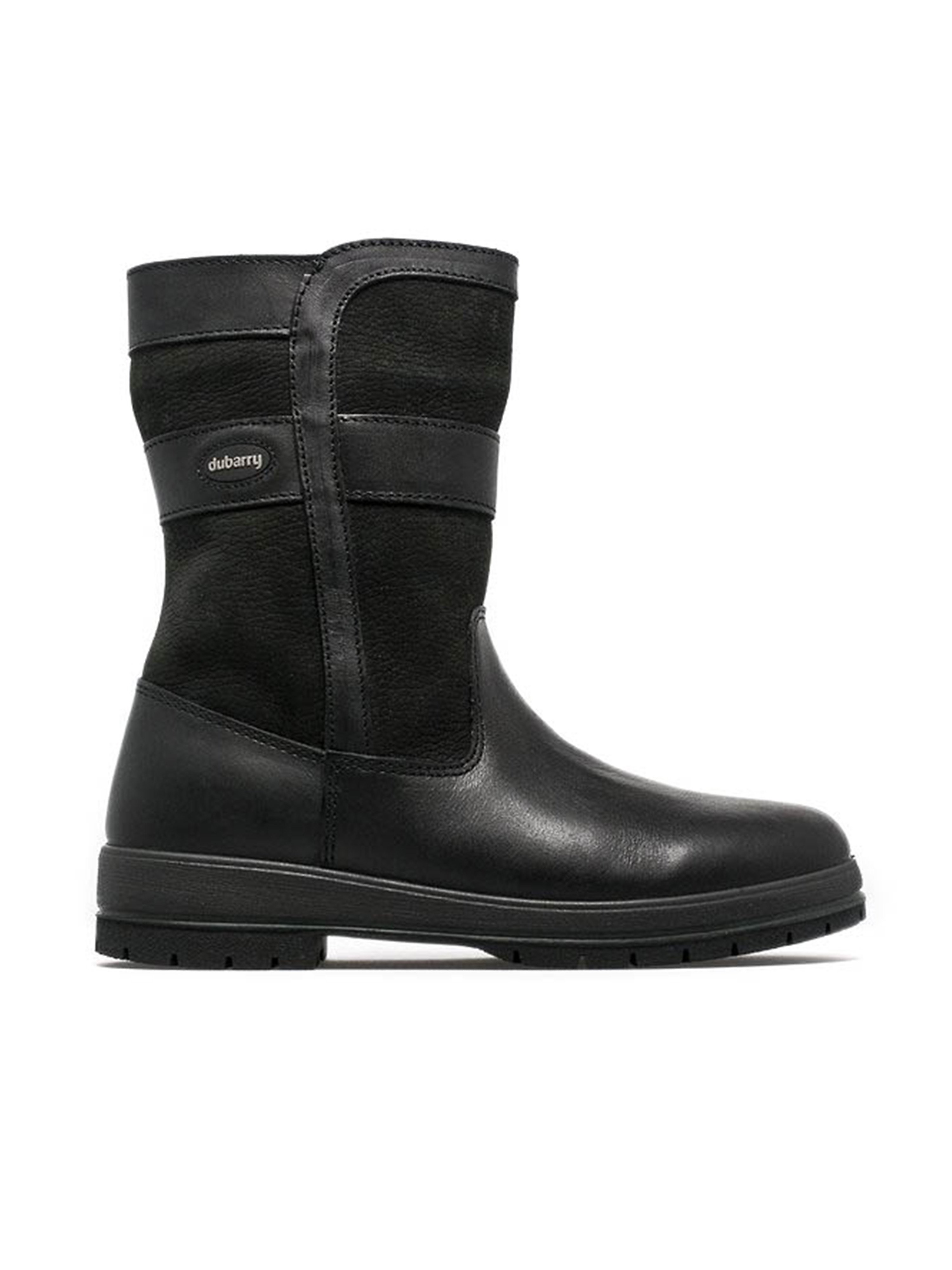 Dubarry Womens Roscommon - Black Leather