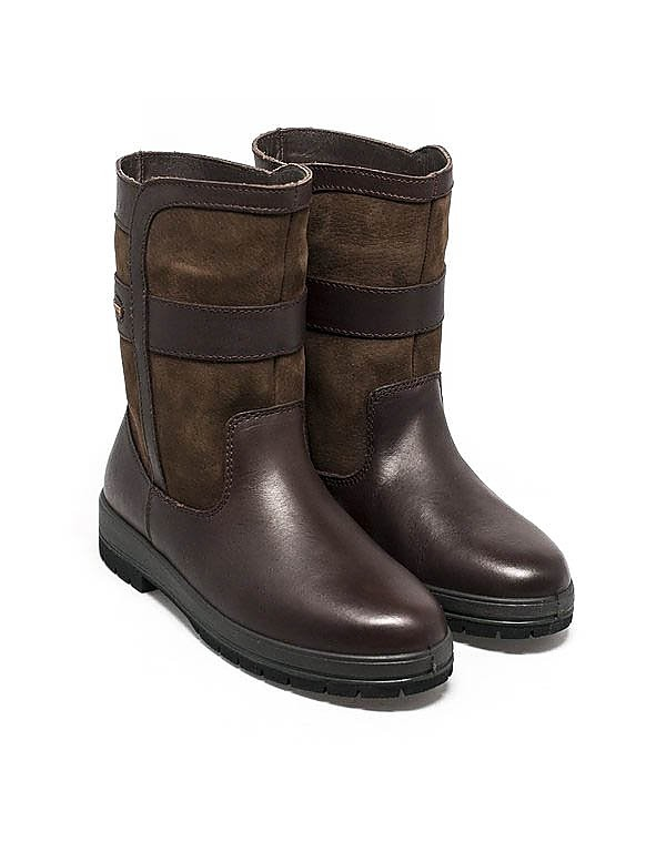 Dubarry Women's Roscommon Leather Ankle Boots - Walnut