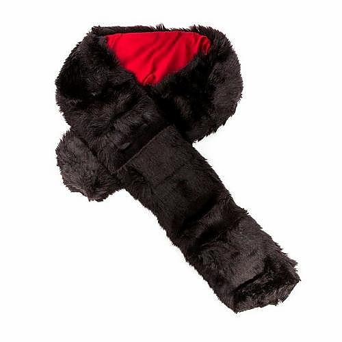 Dubarry Womens Fur Scarf  - Black