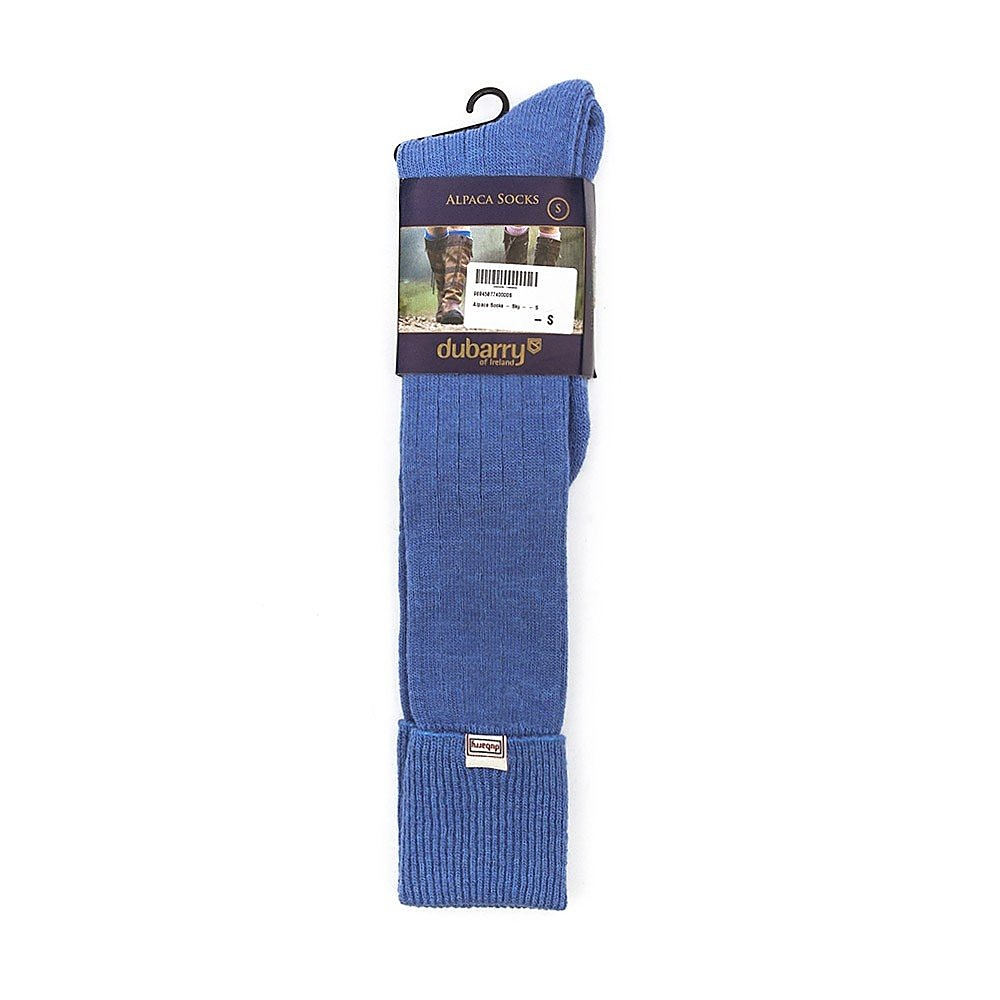 Dubarry Womens Alpaca Socks - Sky Blue