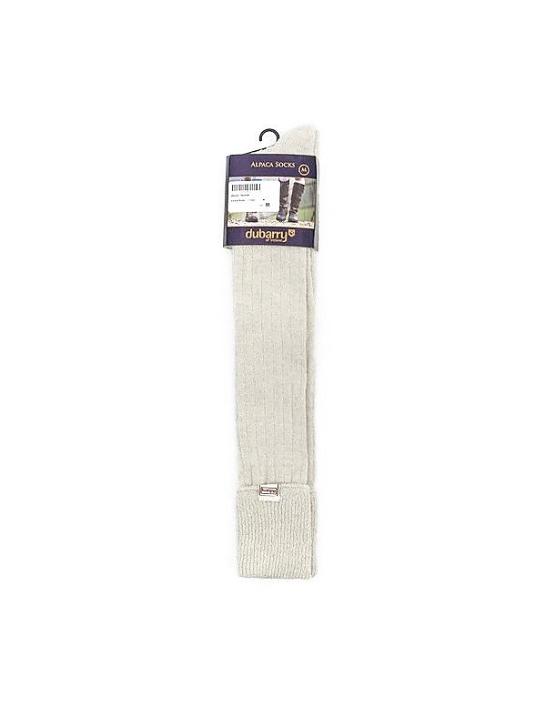 Dubarry Womens Alpaca Socks - Cream