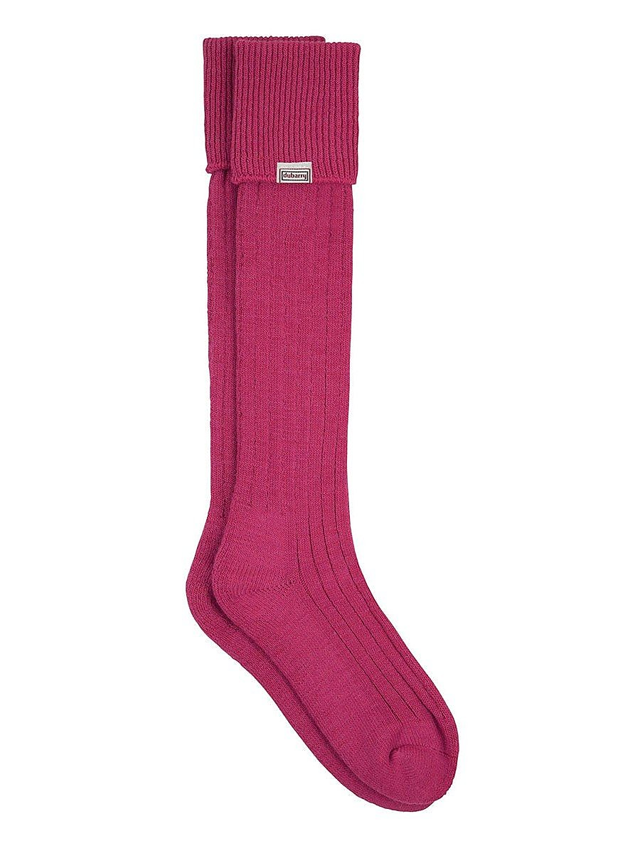 Dubarry Womens Alpaca Socks - Pink