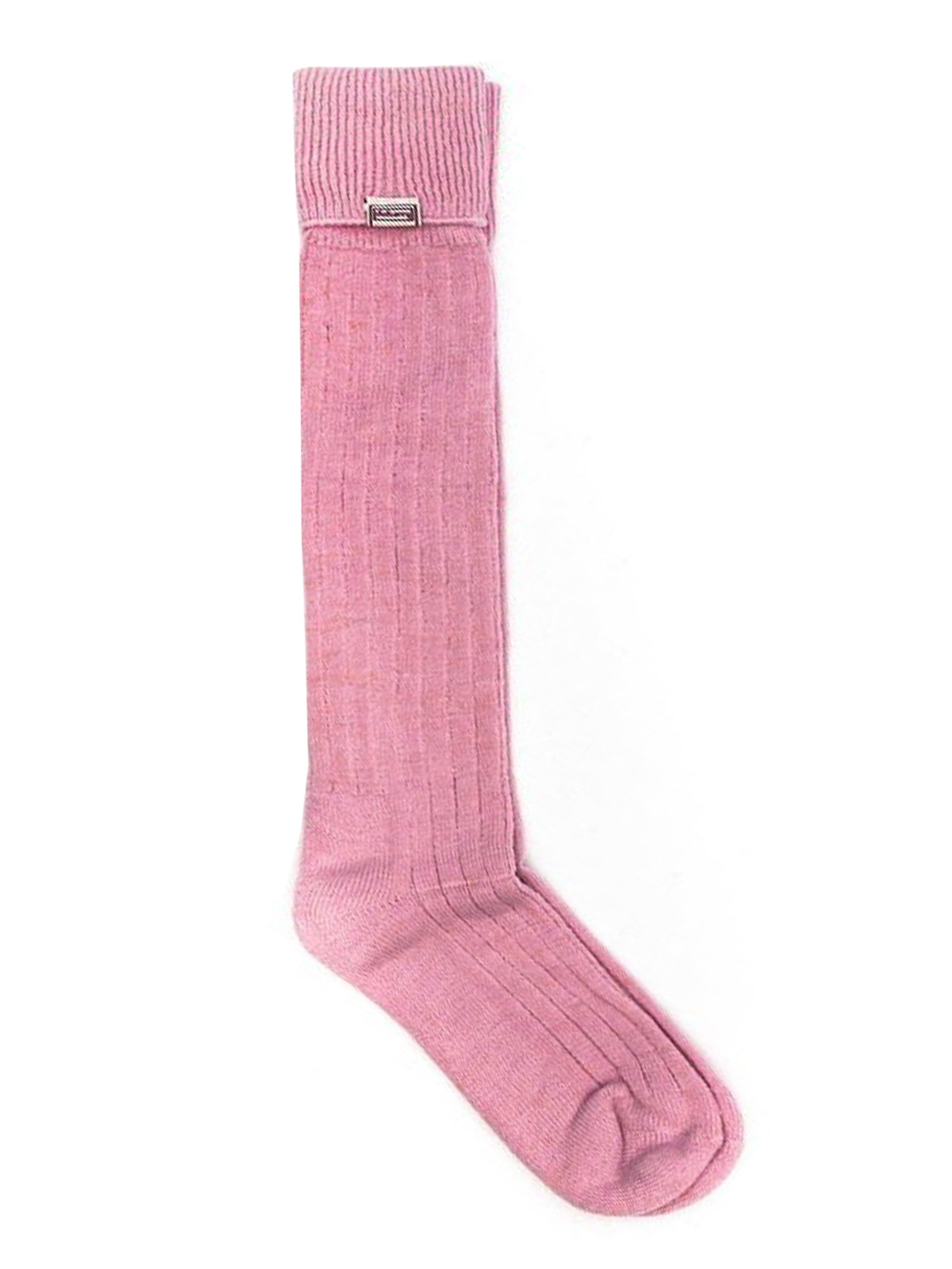 Dubarry Women's Alpaca Socks - Baby Pink
