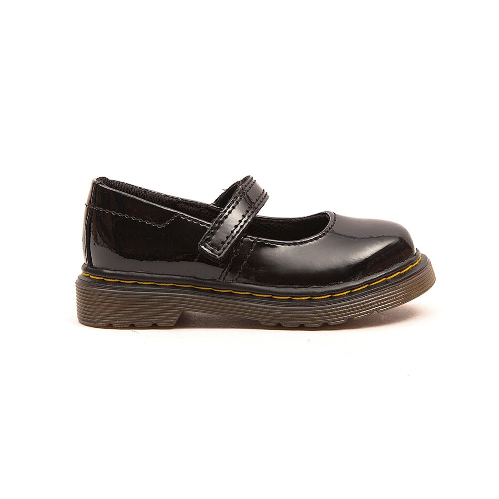 Dr Martens Infants Tully Kids Black Patent