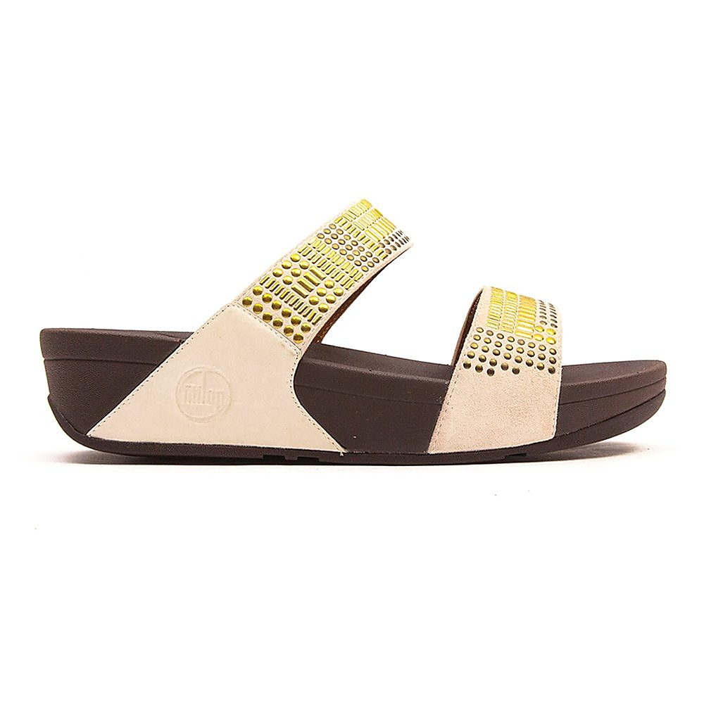 FitFlop Aztec Chada Slide Womens Rio