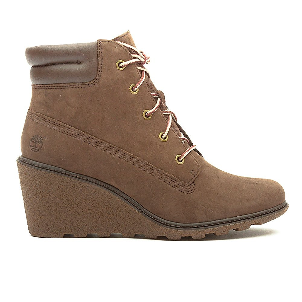 Timberland Womens Amston 6 Inch - Brown Nubuck