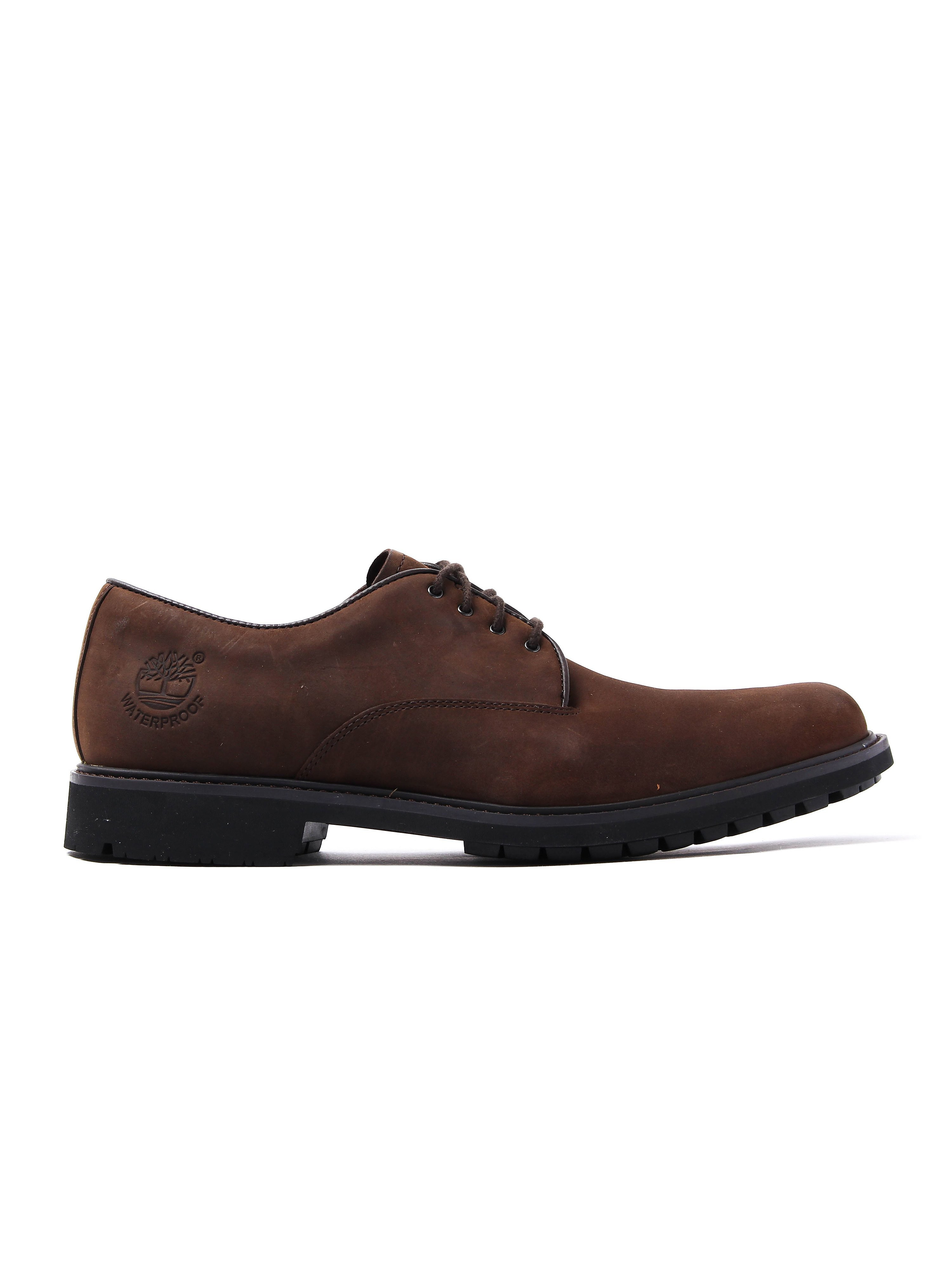 Timberland Mens Stormbuck Plain Toe Oxford - Dark Brown
