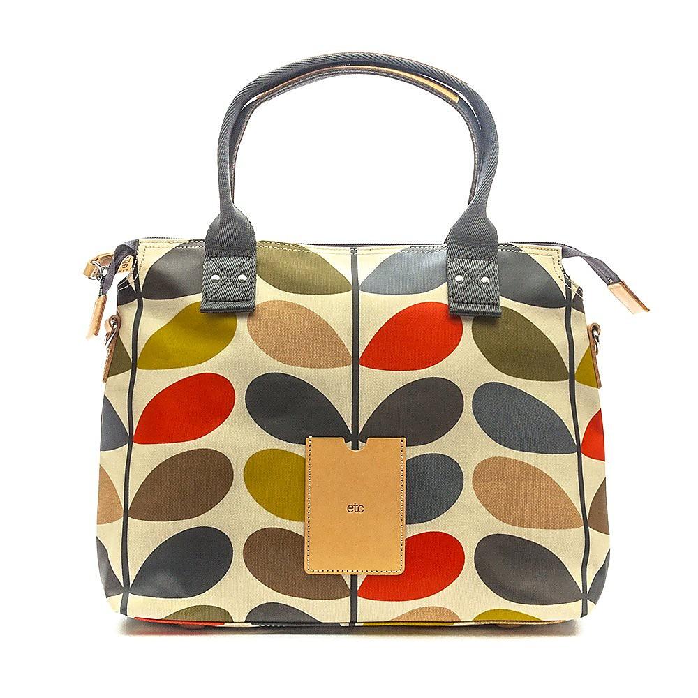Orla Kiely Zip Messenger Bag - Multi