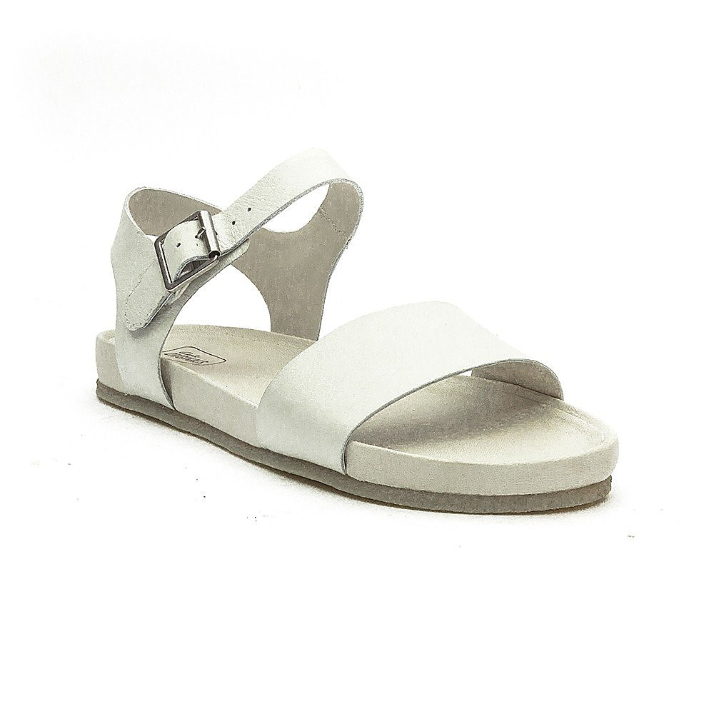 Clarks  Clarks Dusty Soul Womens Leather Sandals - White