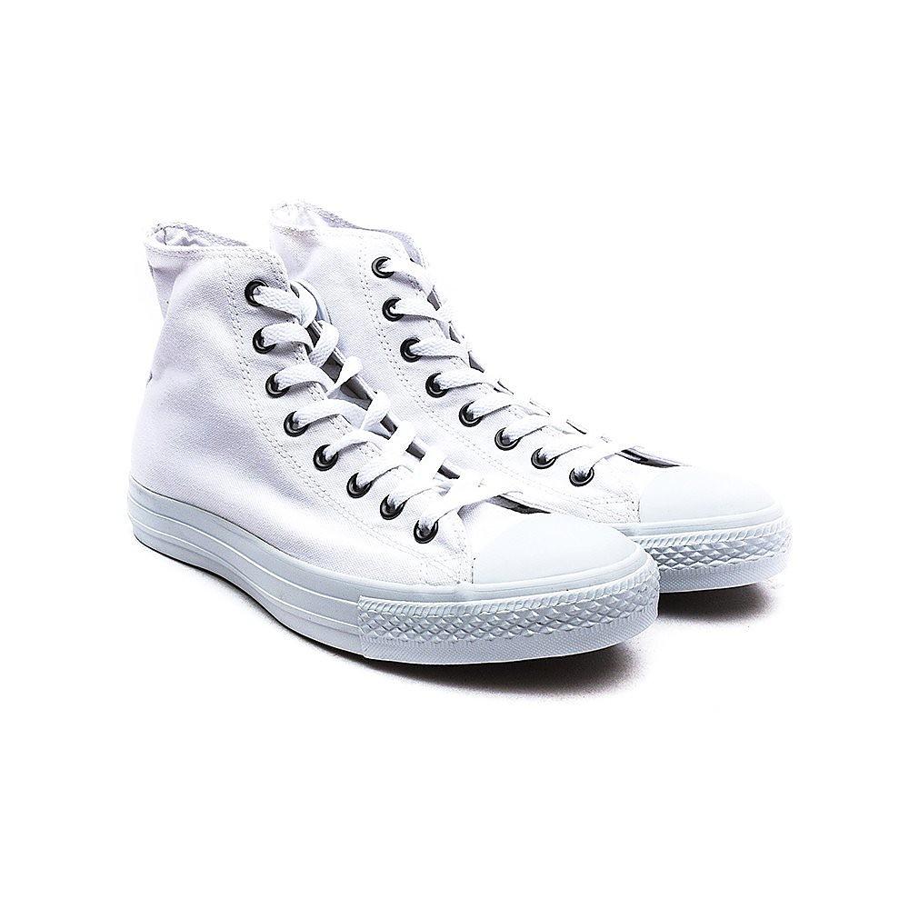 Converse Mens Chuck Taylor All Star High Top - White Mono