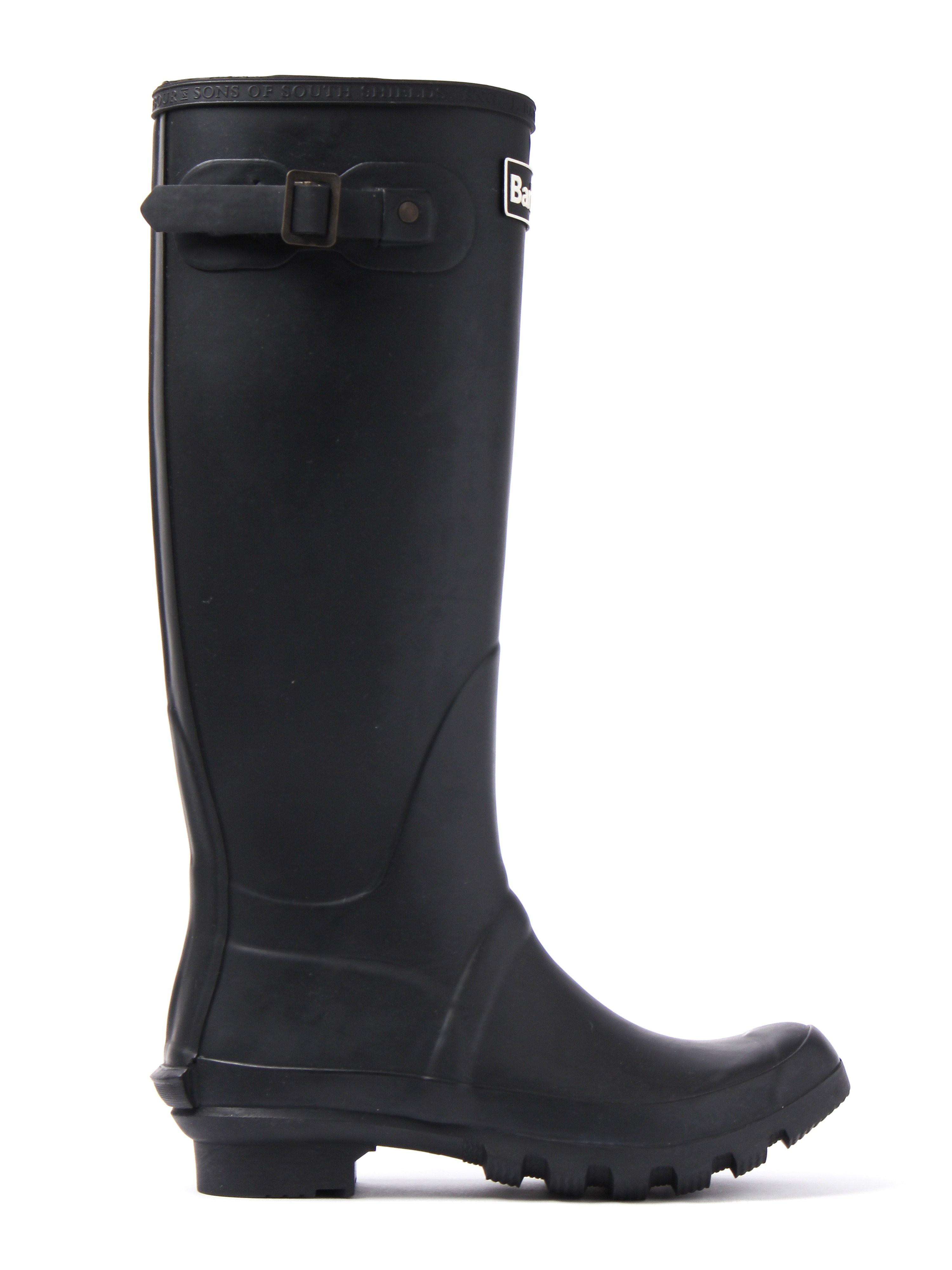 Barbour Women's Bede Rubber Wellington Boots - Black