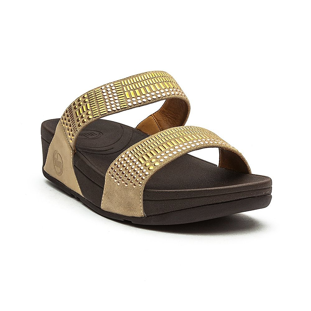 FitFlop Women's Chada™ Slide Sandals - Rose Gold