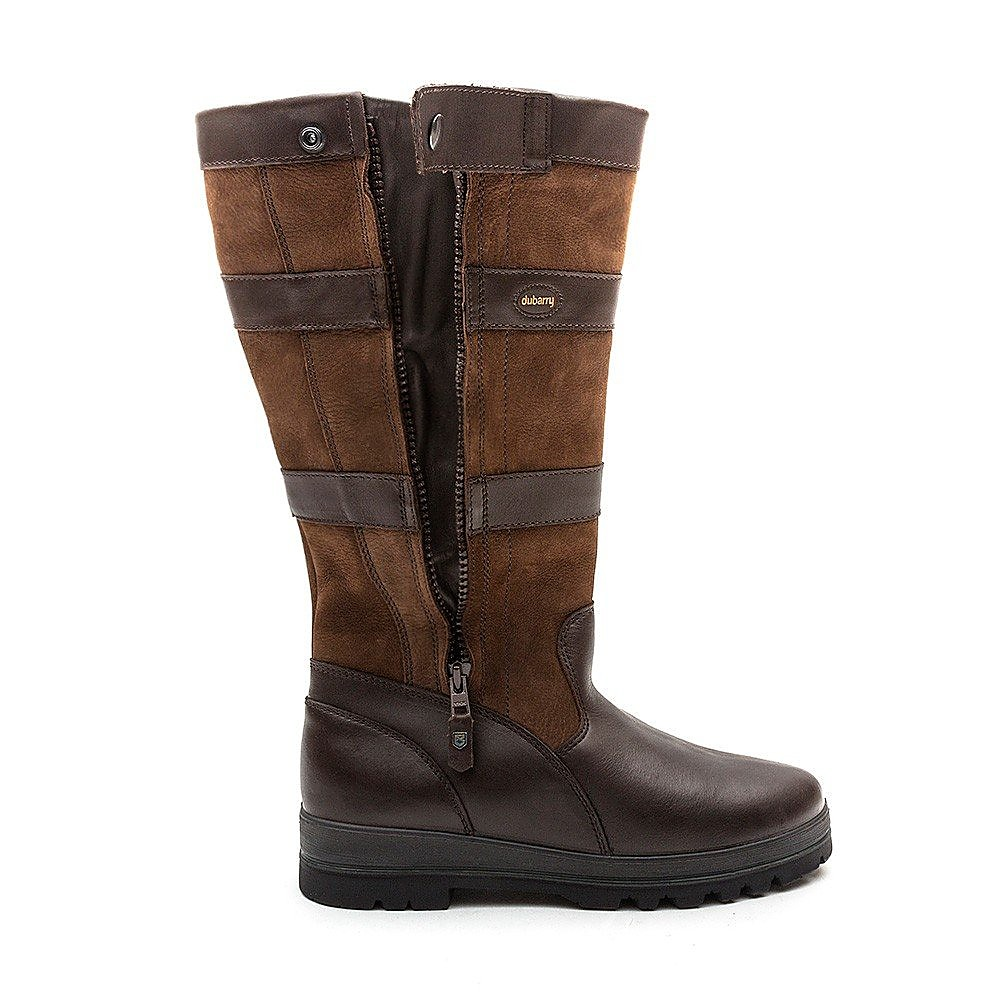 Dubarry Men's Wexford Tall Leather Boots - Walnut