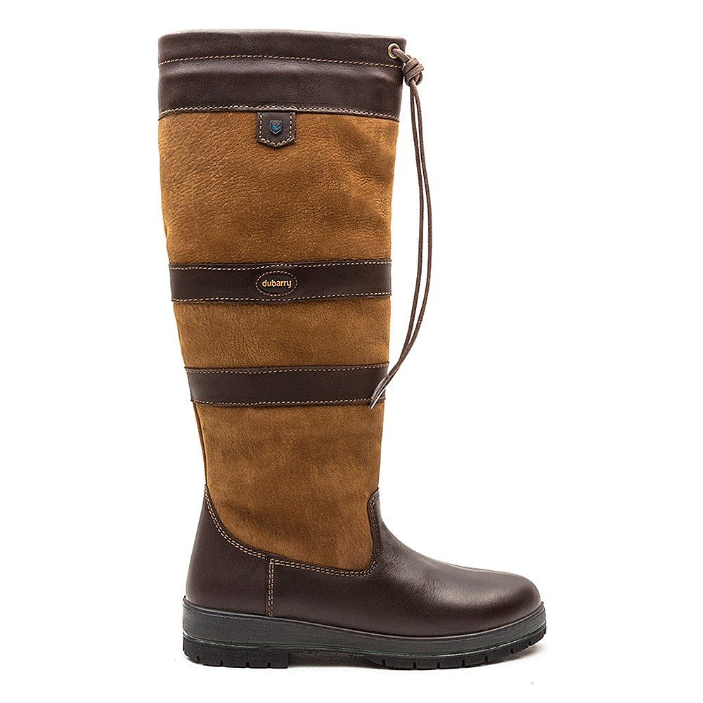 Dubarry Women's Galway Tall Leather Boots - Brown Leather