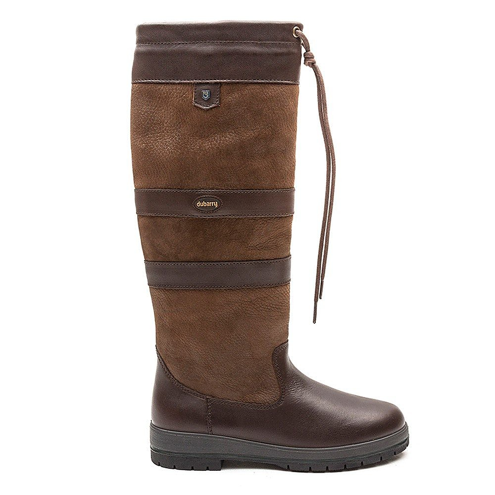 Dubarry Women's Galway Slim-Fit Leather Boots - Walnut
