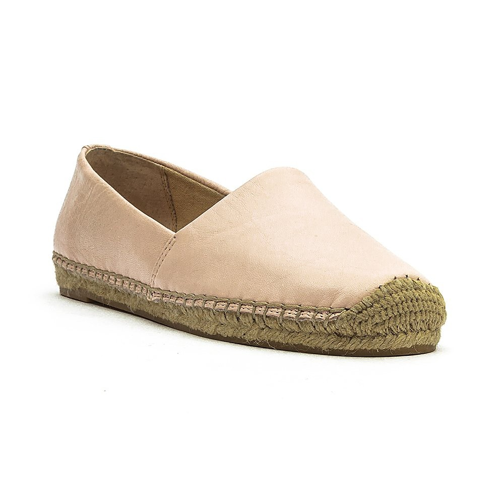 Sam Edelman  Lynn Leather Slip-ons - Pink Powder Nappa