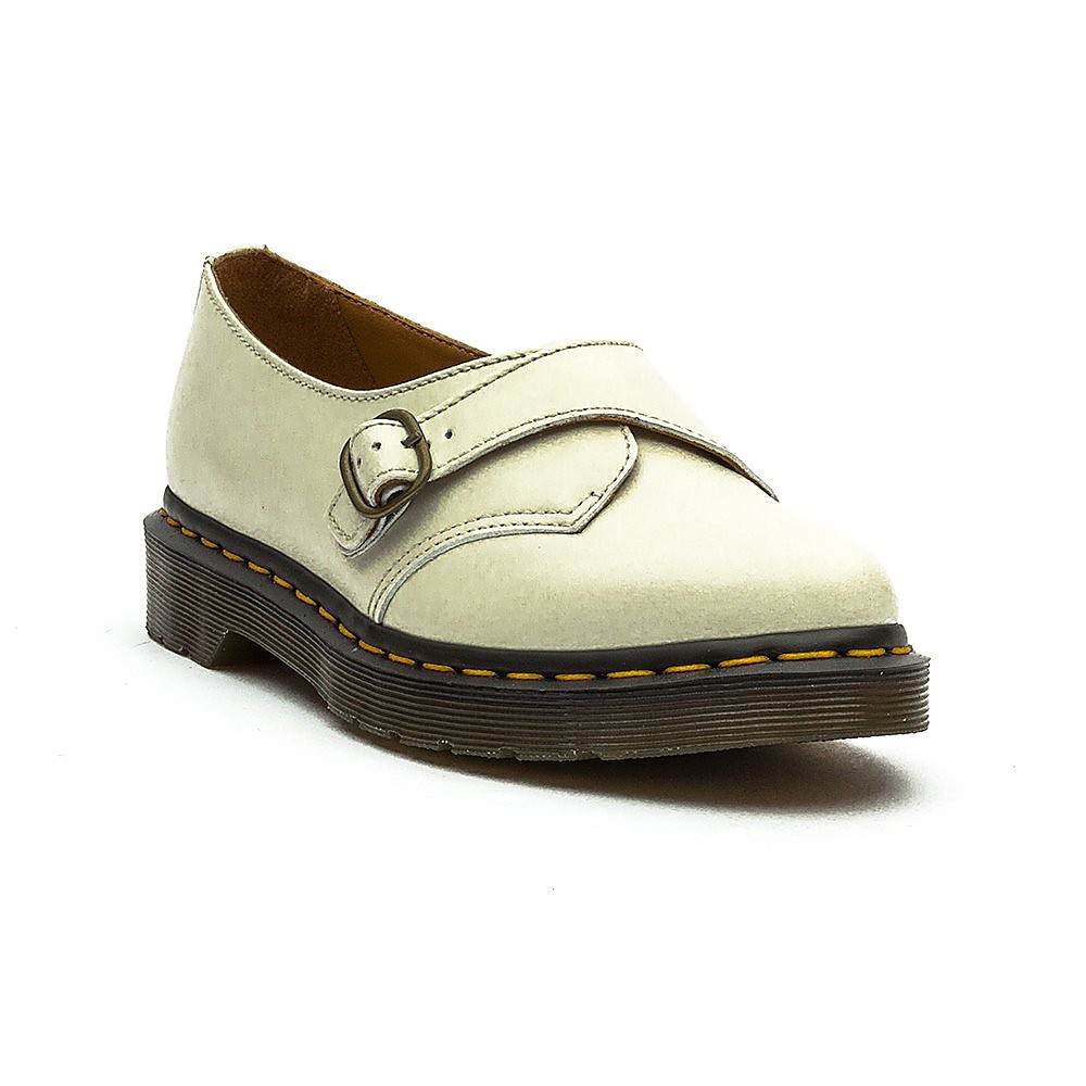 Dr Martens Agnes Off White Polished