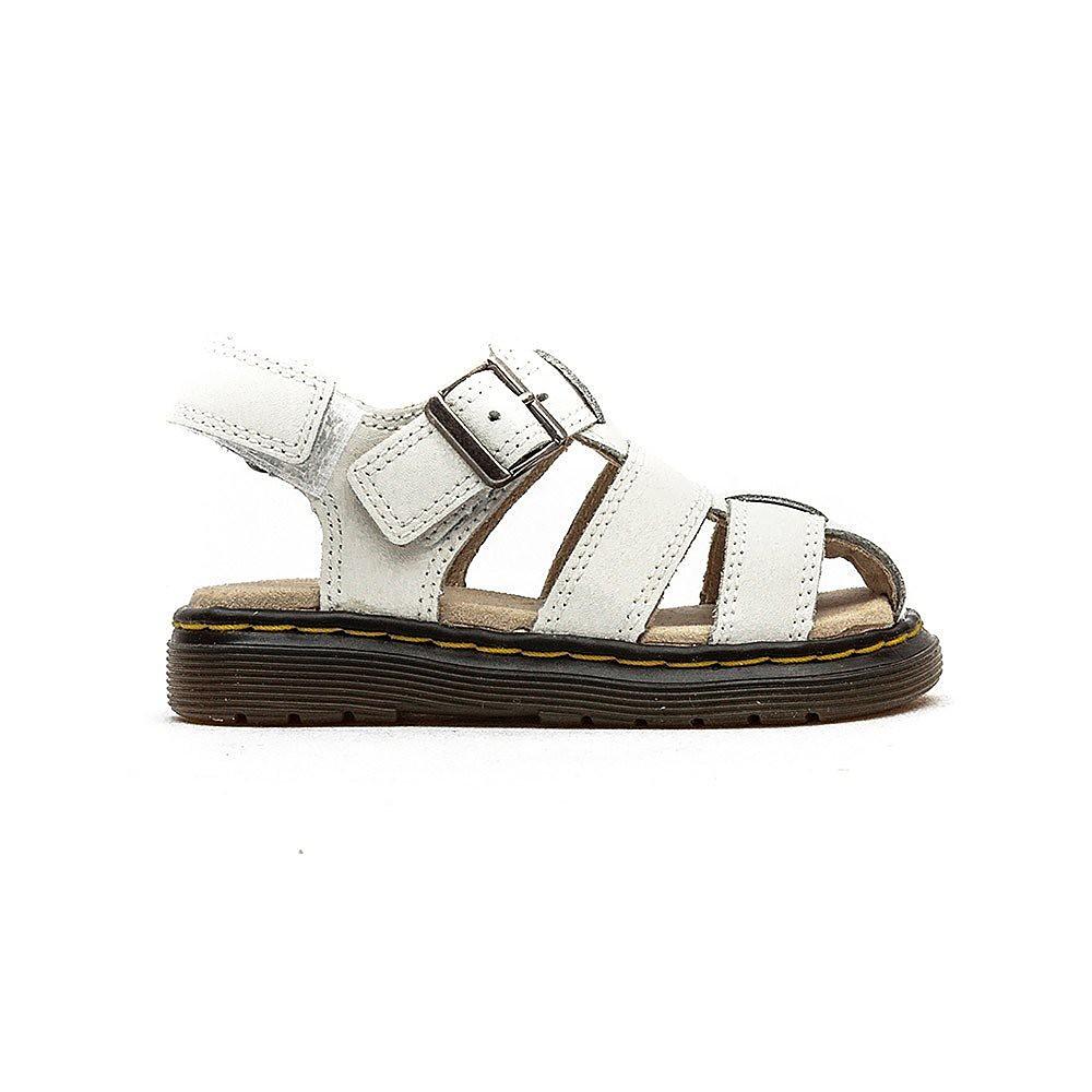 Dr Martens  Moby Infant Sandals - White