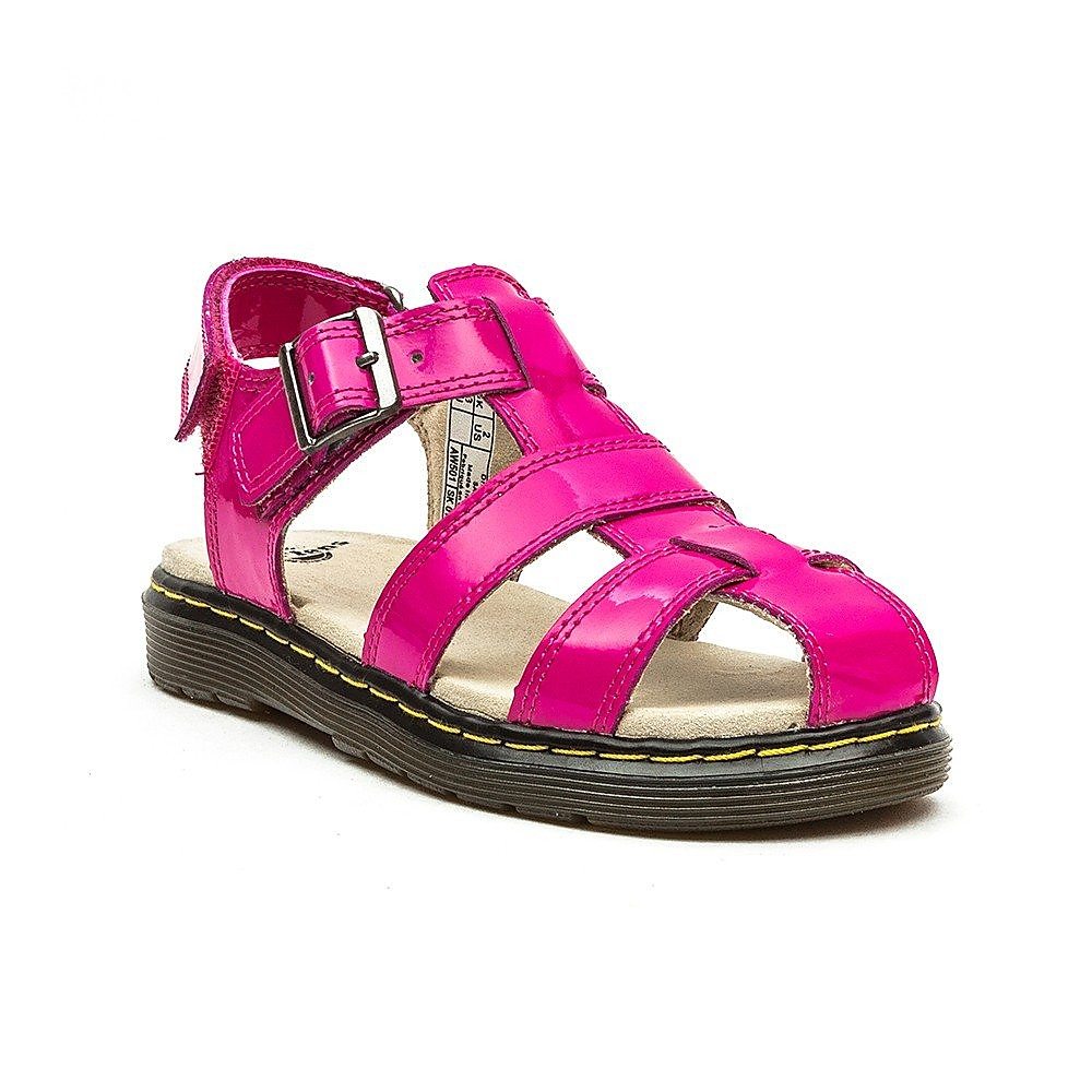 Dr Martens Juniors Sailor Kids Pink