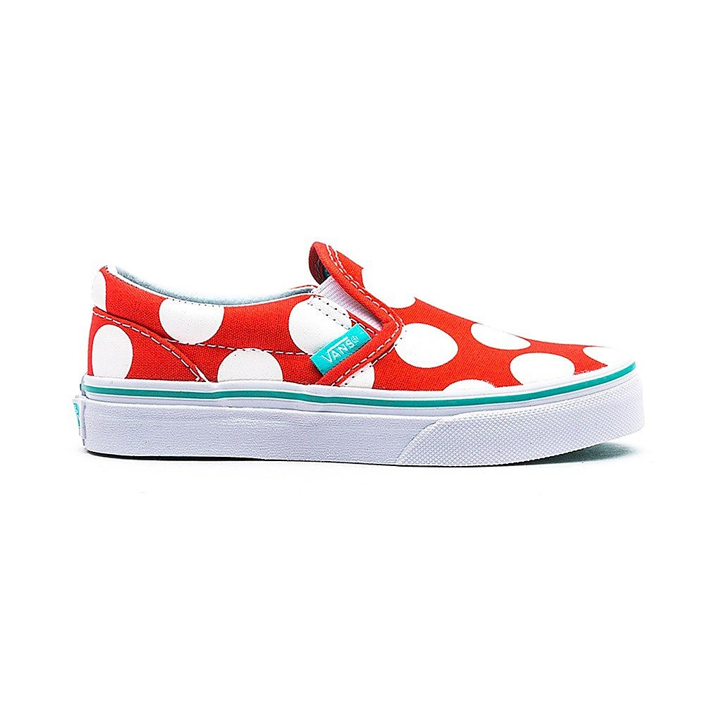 Vans Classic Slip-On Kids Polka Dots Hot