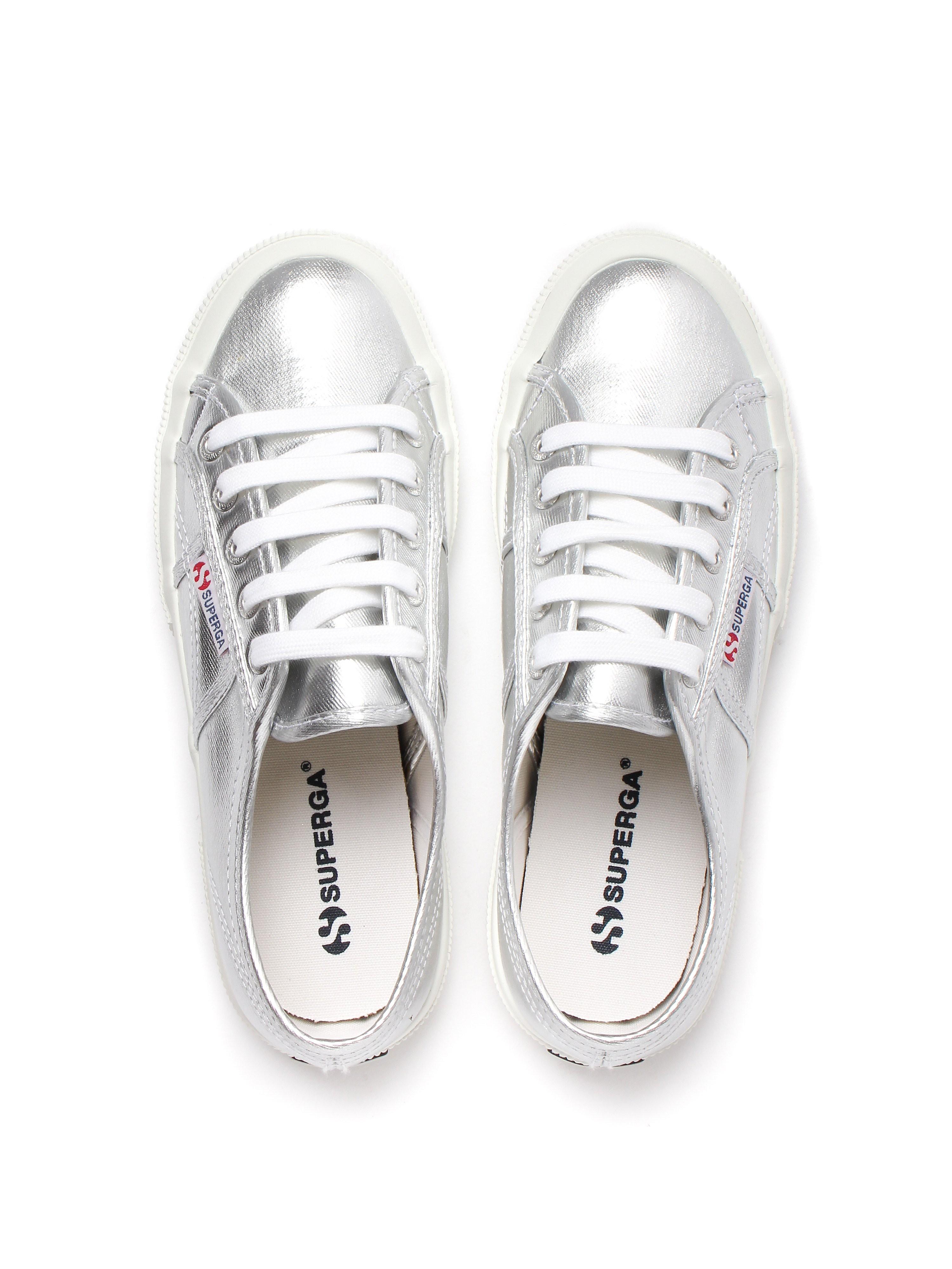 Superga Womens 2750 Metu Shoes - Silver