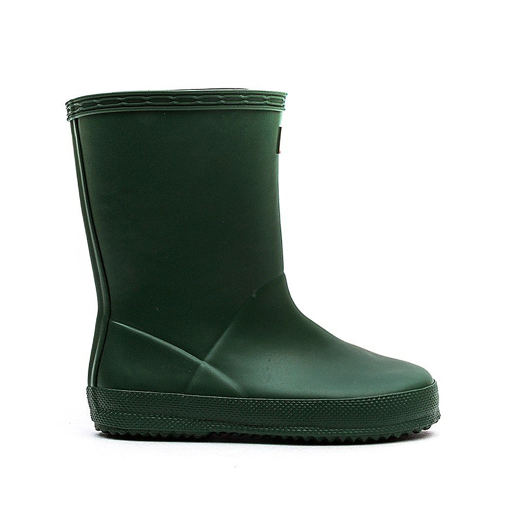 Hunter Wellies Infant First Classic Rubber Wellington Boots - Hunter Green