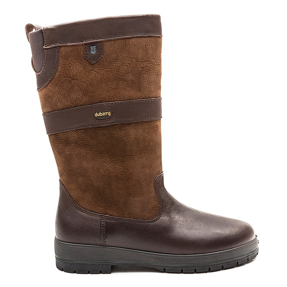 Dubarry Women's Kildare Leather Mid Height Boots - Walnut