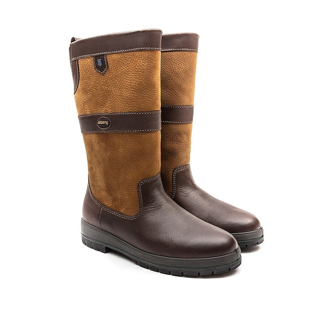 Dubarry Women's Kildare Mid Height Leather Boots - Brown