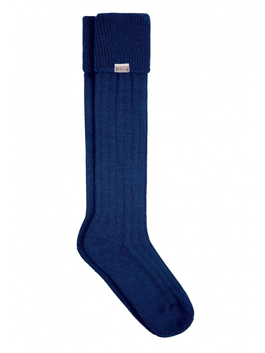 Dubarry Unisex Alpaca Socks - Navy
