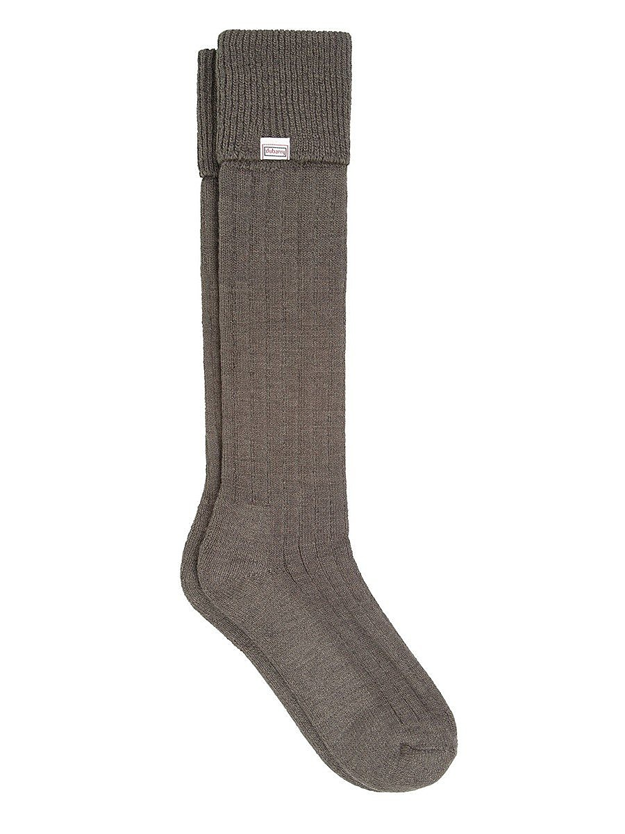Dubarry Unisex Alpaca Socks - Olive
