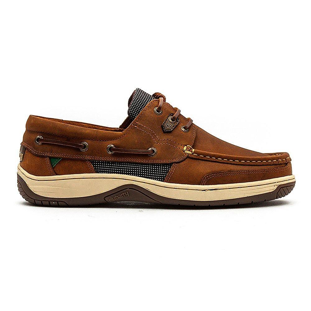 Dubarry Men's Regatta Leather Boat Shoes - Whiskey