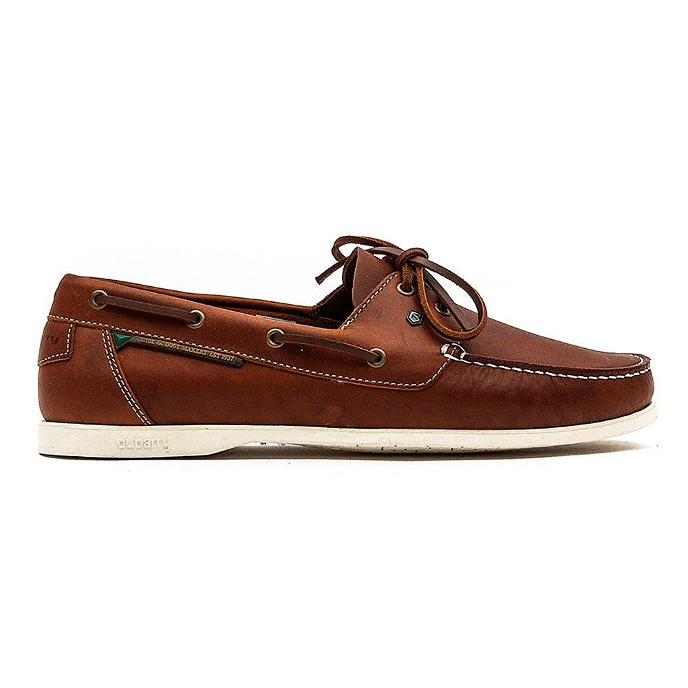 Dubarry Men's Windward Leather Boat Shoes - Brown