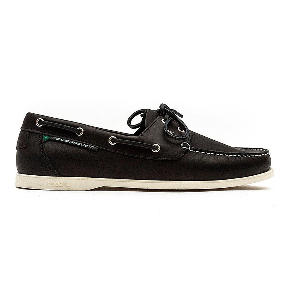 Dubarry Men's Windward Leather Boat Shoes - Navy