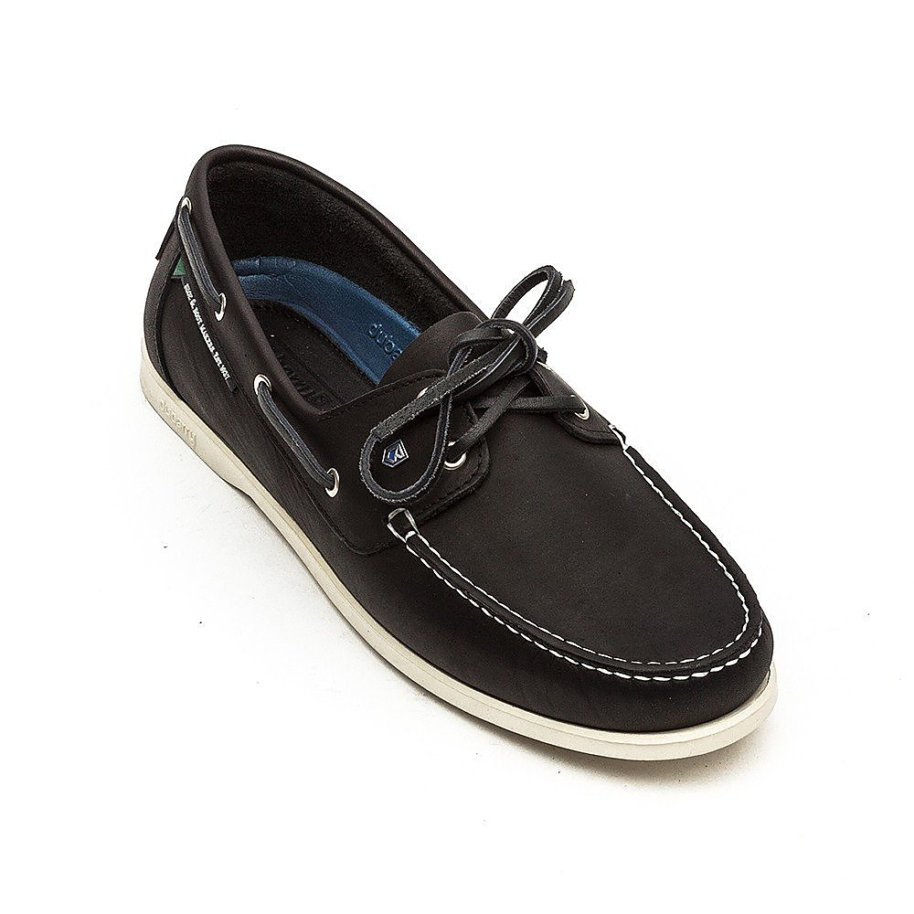 Dubarry Men's Windward Leather Boat Shoes - Navy