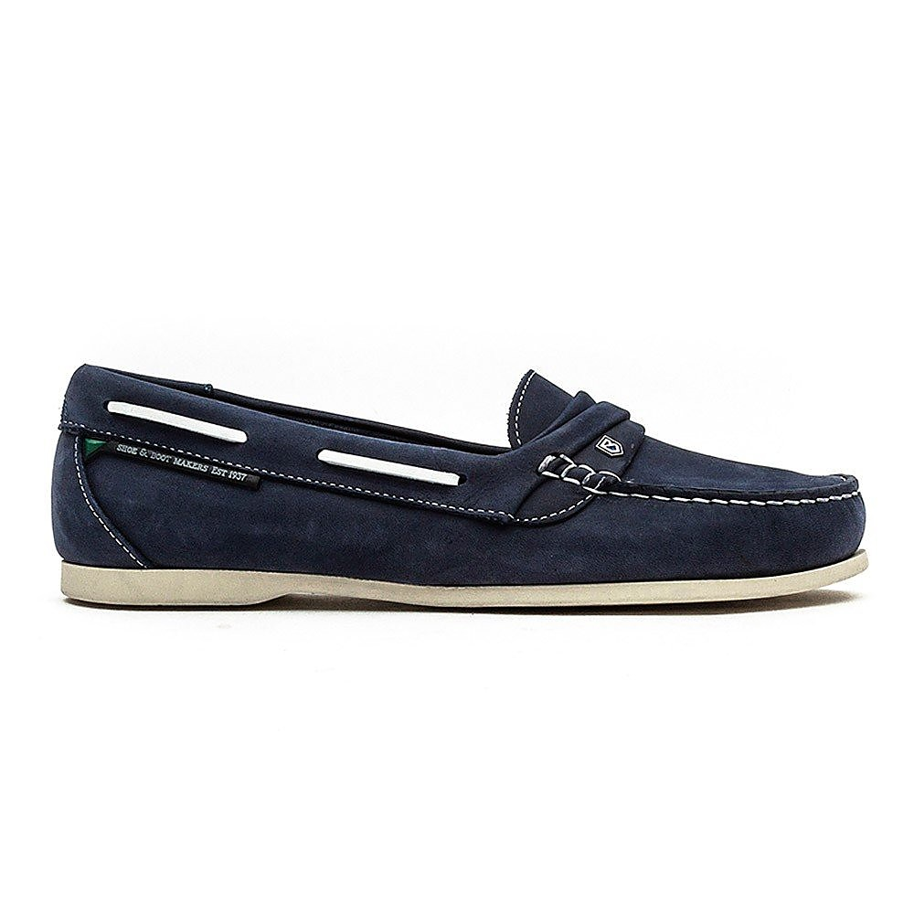 Dubarry Women's Hawaii Suede Boat Shoes - Denim