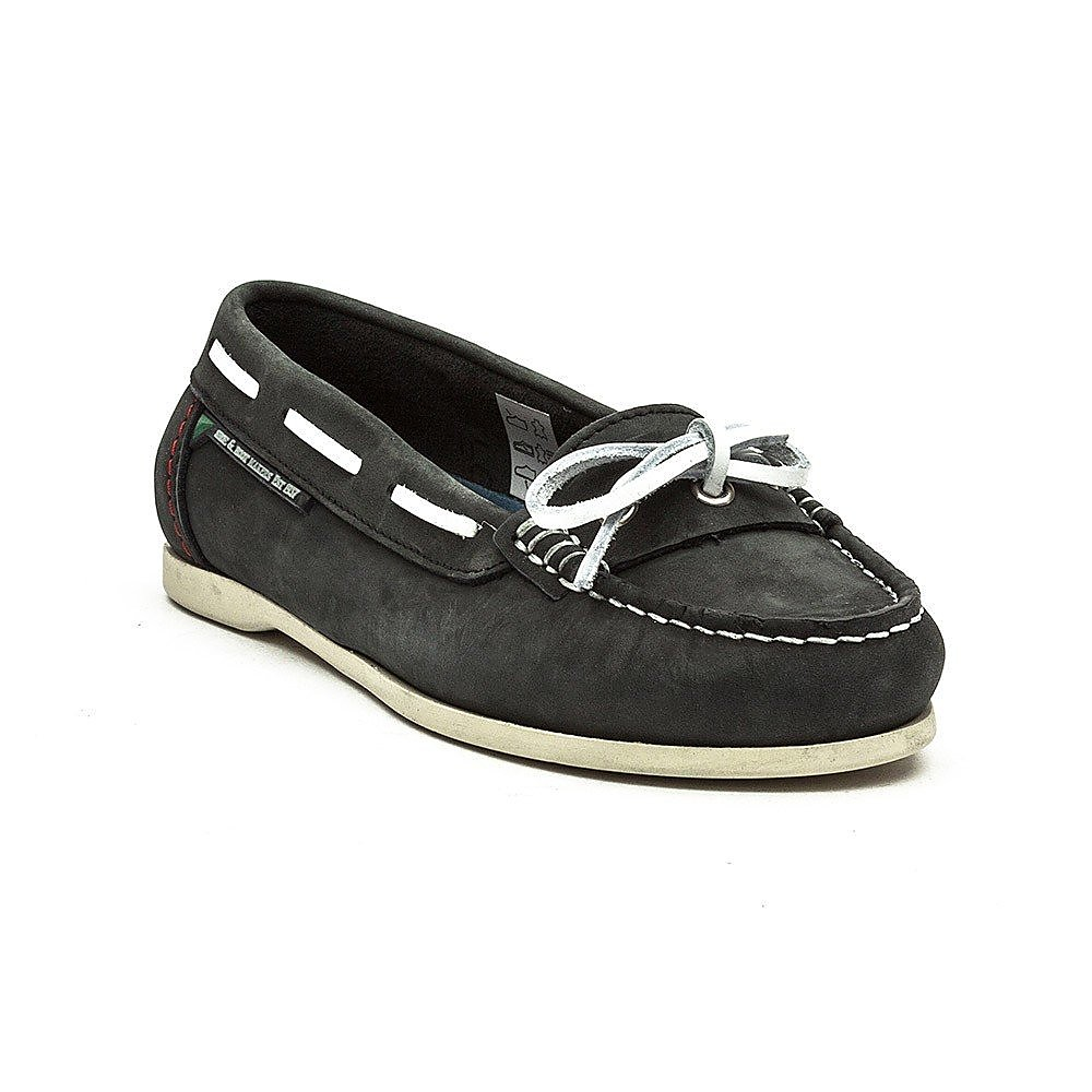 Dubarry Women's Fiji Nubuck Boat Shoes - Navy