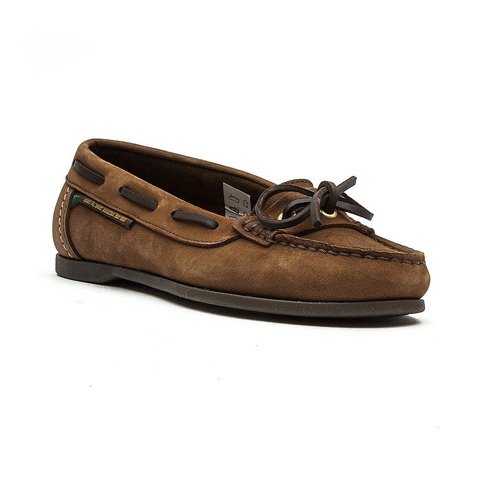 Dubarry Women's Fiji Nubuck Boat Shoes - Café