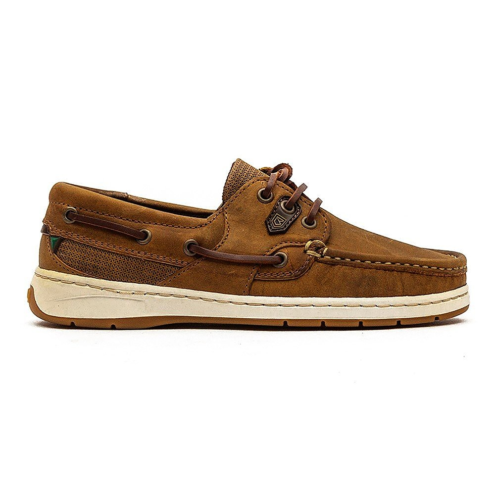 Dubarry Women's Auckland Leather Boat Shoes - Brown