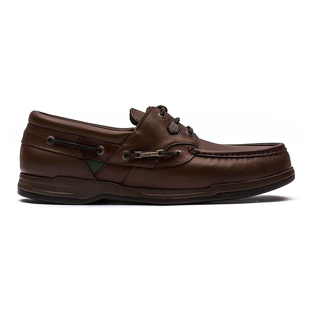 Dubarry Men's Helmsman Leather Boat Shoes - Oakwood