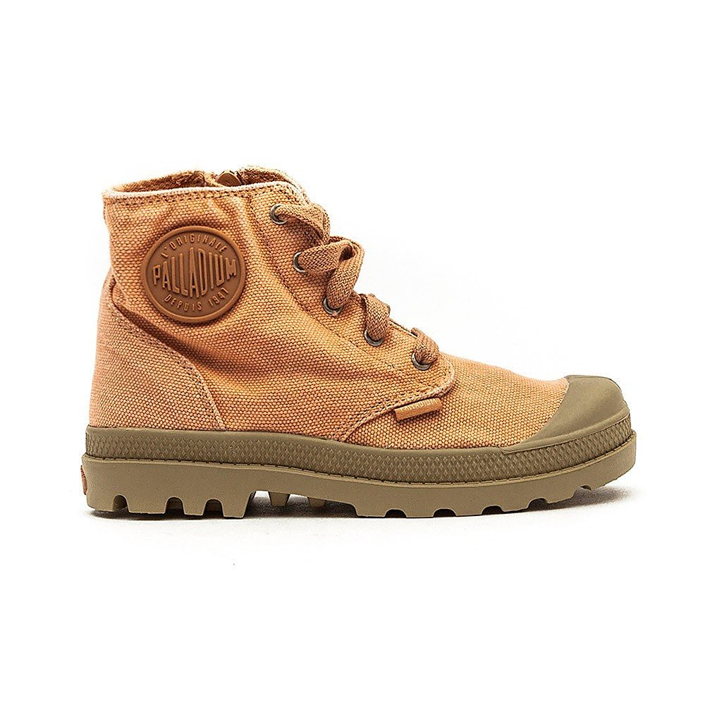 Palladium Pampa Hi Junior Salmon Pink /