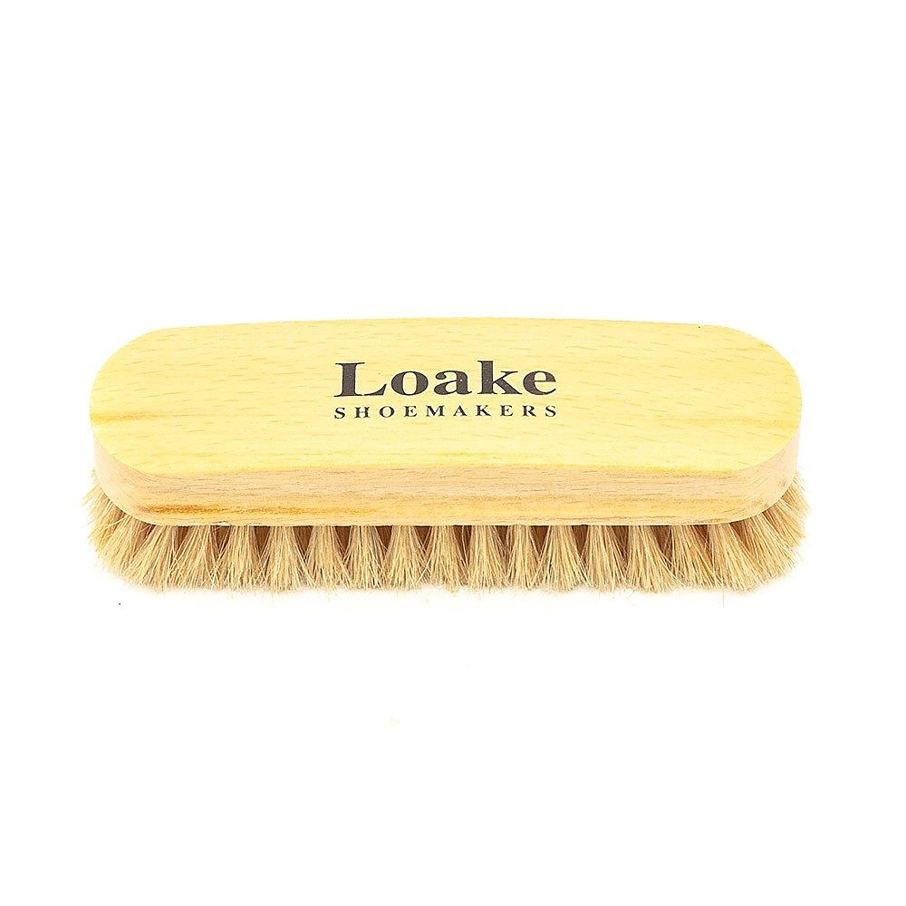 Loake Large Grey Horsehair Brush