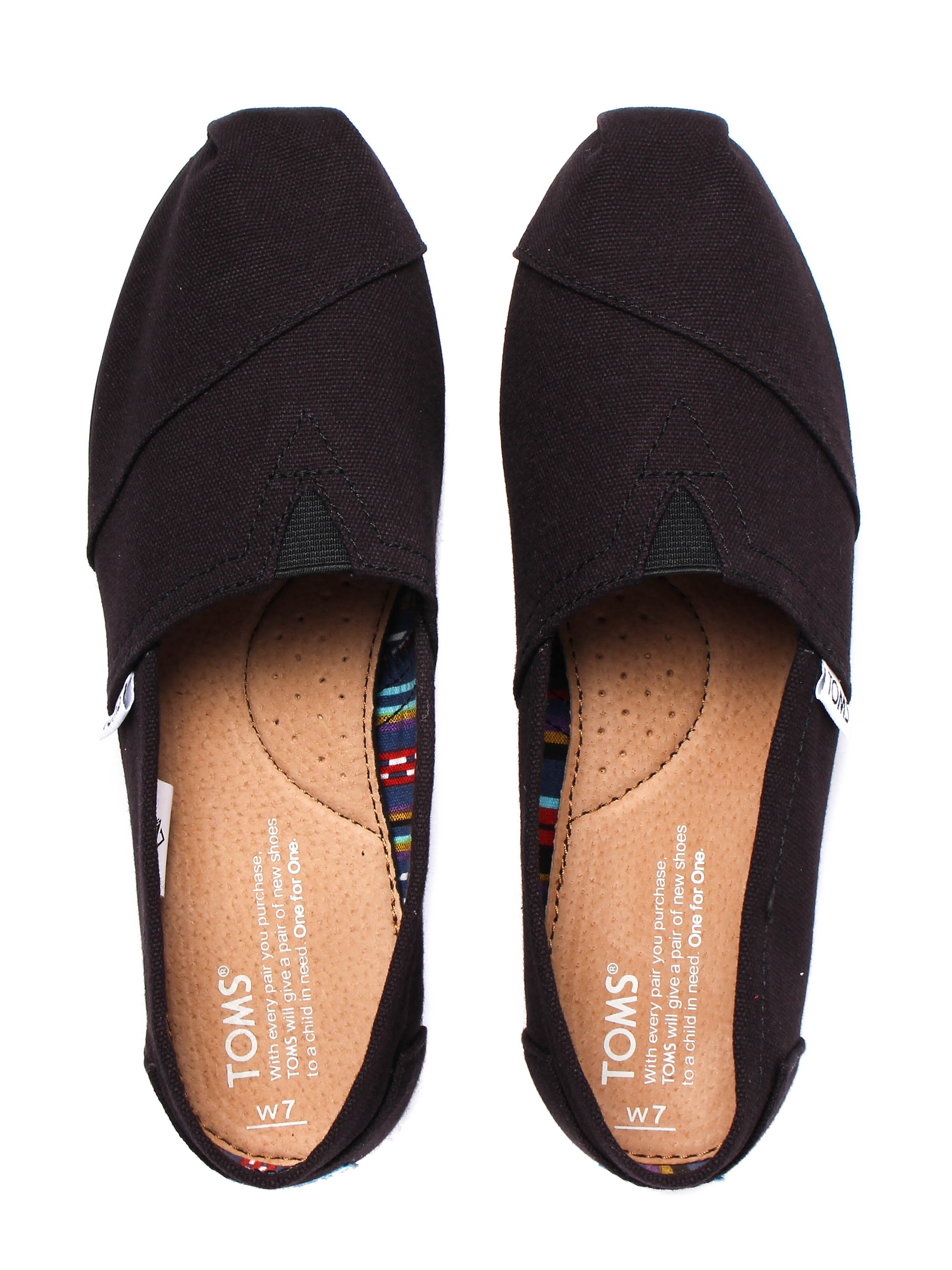 Toms Classics Womens - All Black