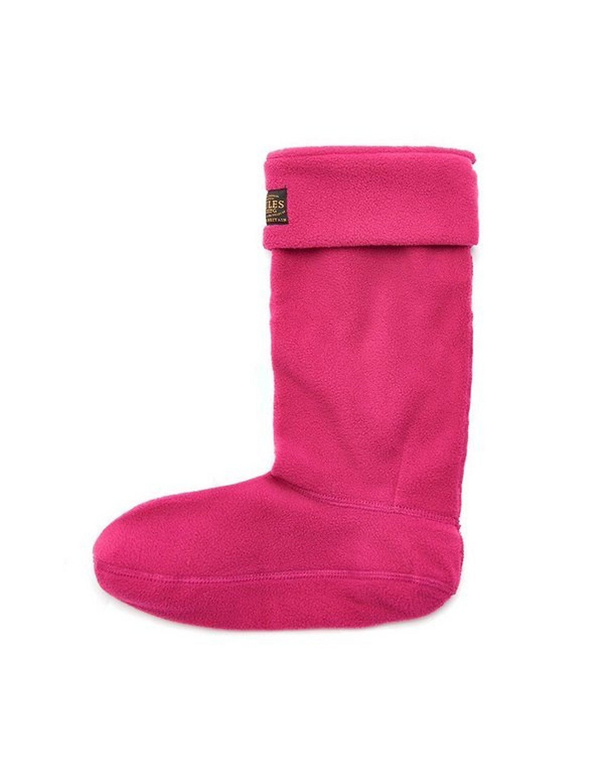 Joules  Women's Welton Fleece Welly Socks - Pink