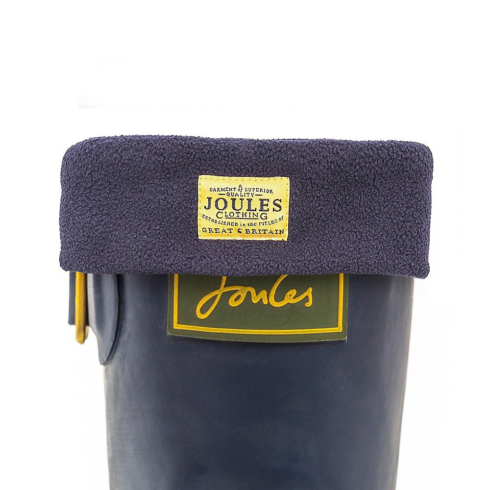 Joules Women's Welton Fleece Welly Socks - Marine Blue